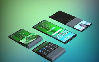 Lenovo patents vertically foldable phone