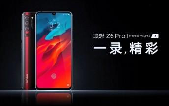 Promo video confirms notched display and UD fingerprint scanner on Lenovo Z6 Pro