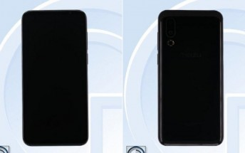 Meizu 16s appears on TENAA with 6.2-inch display and 3,540 mAh battery