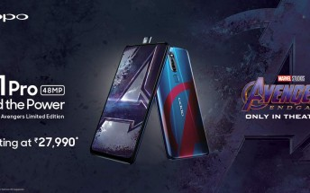 Oppo F11 Pro Avengers Limited Edition pre-orders opened in India, ships May 1