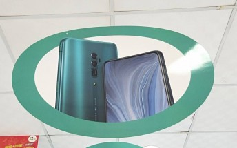 Oppo Reno with periscope camera leaked in marketing banners