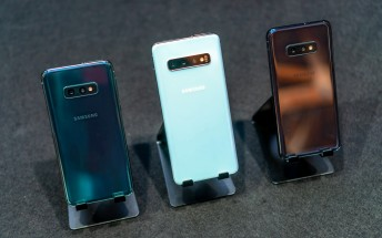 Samsung Galaxy S10 early US sales are higher than the S9's