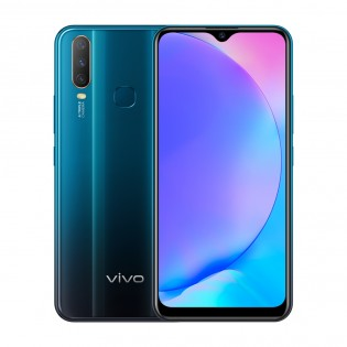 vivo Y17 in Mineral Blue