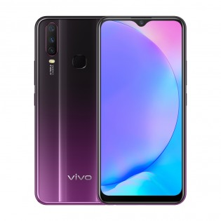 vivo Y17 in Mystic Purple