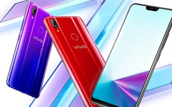 vivo Z3x announced - it is the vivo Z1 with a new selfie camera