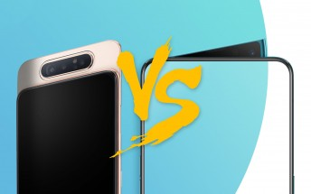 Weekly poll: Samsung Galaxy A80 vs. Oppo Reno 10x zoom