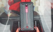 Nubia Red Magic 3 poses for live photos