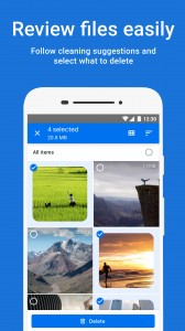 The Google Files app can share files over Wi-Fi