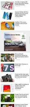 Some long screenshots: OnePlus 7 Pro