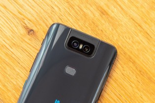 The camera body is made of Liquid Metal, has a high-torque motor