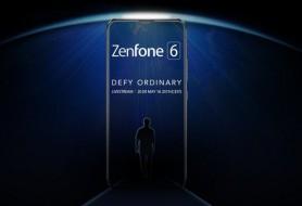 Asus Zenfone 6 teaser images