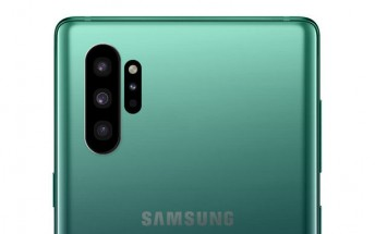 Here's what the Galaxy Note10's rear camera arrangement might look like