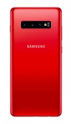 Samsung Galaxy S10+ in Cardinal Red