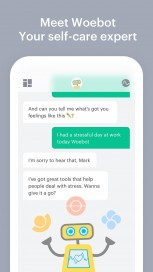 Standout Well-Being App: Woebot: Your Self-Care Expert