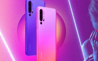 Honor 20 series gets a new teaser, details holographic design