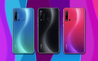 Huawei nova 5i photos on TENAA confirm four cameras