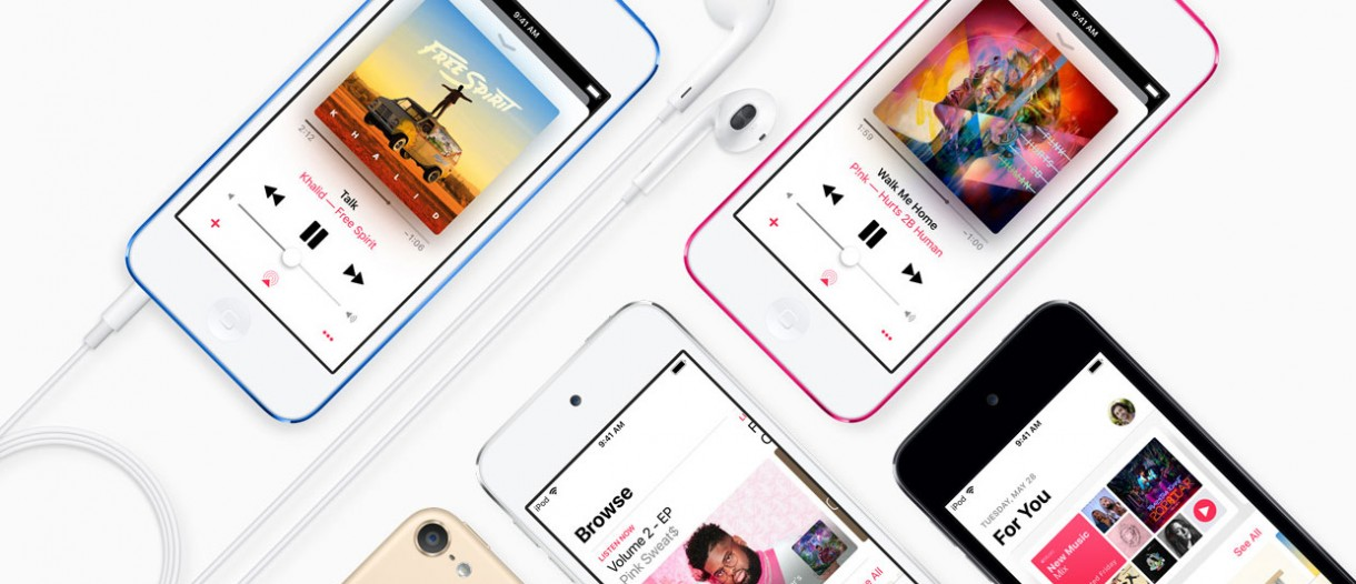 Apple updates iPod touch with A10 chipset and new 256GB