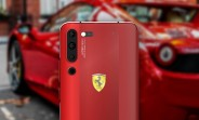 Lenovo VP posts image of Lenovo Z6 Pro Ferrari Edition