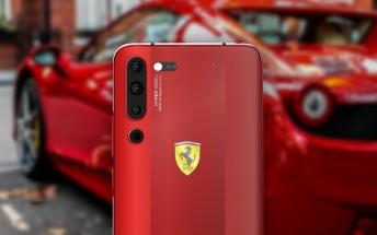 Lenovo VP posts image of Lenovo Z6 Pro Ferrari Edition