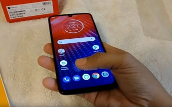 Motorola Moto Z4 appears in hands-on video ahead of launch