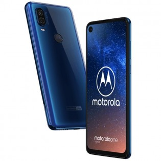 Motorola One Vision in Blue color