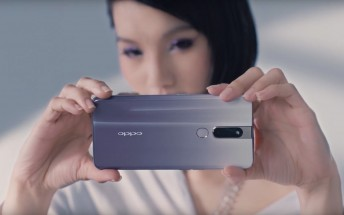 Oppo F11 Pro gets a new color: Waterfall Gray