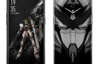 Oppo Reno Gundam edition surfaces