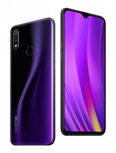 Realme 3 Pro in Lightning Purple