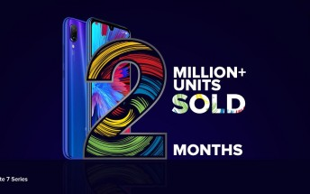 Redmi Note 7 series sales pass 2 million mark in India