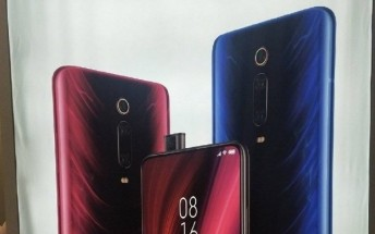 New image shows off the Redmi K20 in Blue color with a pop-up selfie camera