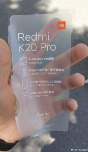 Redmi X20 Pro or K20 Pro?