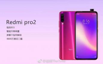Redmi Pro 2 specs appear online