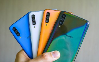 Samsung pushes first software update for the Galaxy A70
