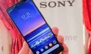 Sony Xperia 1 in for review