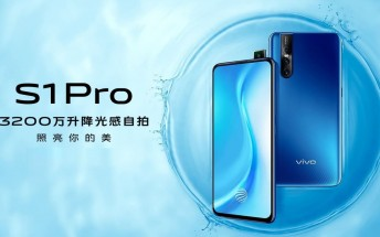 vivo S1 Pro goes official with Snapdragon 675 SoC and a 32MP pop-up selfie camera