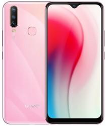vivo Y3 in Peach Pink