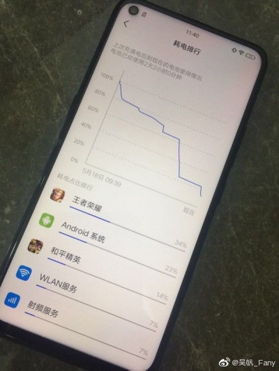 Vivo Z5x, image source: Weibo
