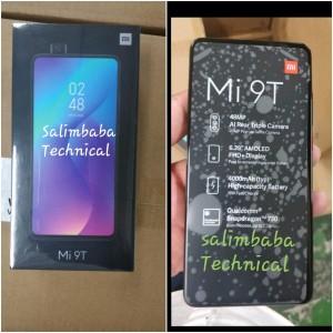 Xiaomi Mi 9T retail box (a rebadged Redmi K20)