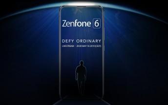 New Asus Zenfone 6 teaser shows no notch, no bezels