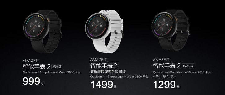 Xiaomi unveils Smart Watch 2
