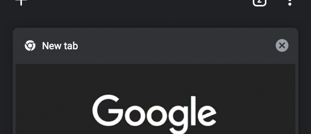 New Chrome version for Android makes the dark theme more accessible