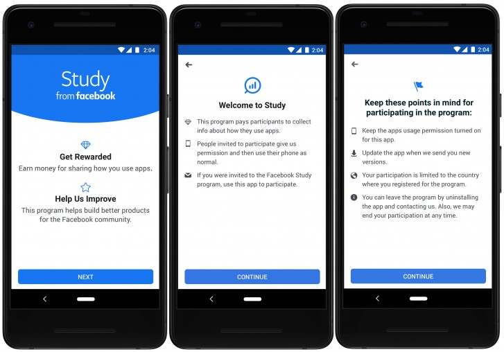 Facebook launches new Study program to track app data in return for financial compensation