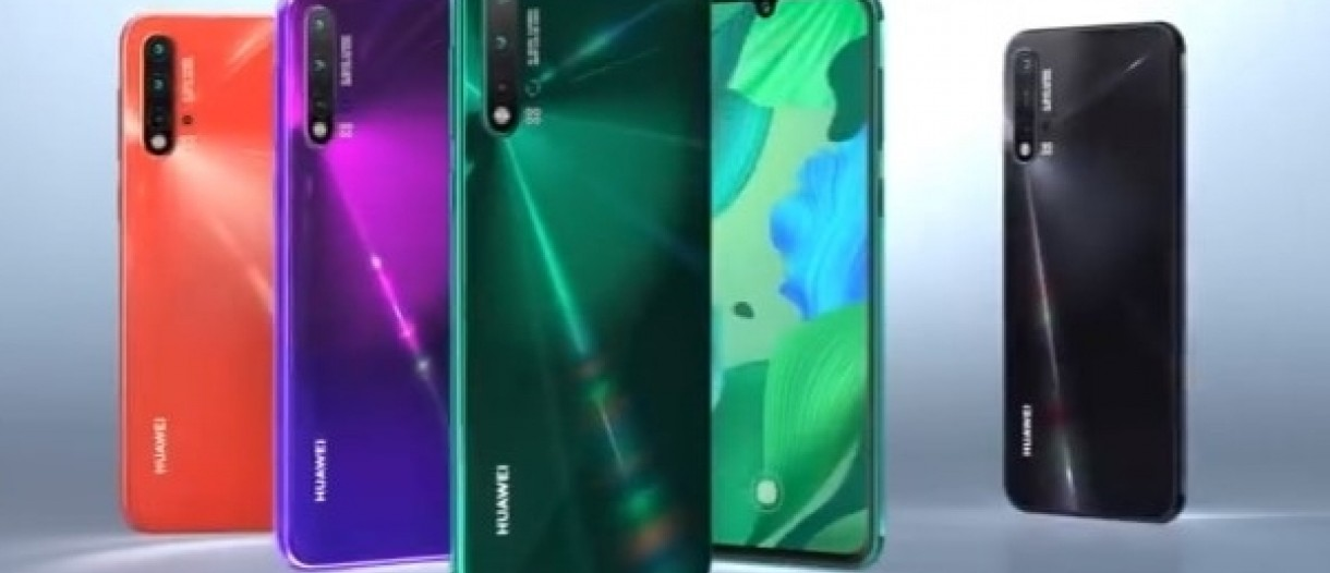 Check out the Huawei nova 5 series promo video - GSMArena