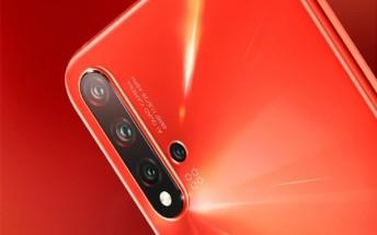 Huawei nova 5 Pro hands-on images appear online