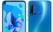Huawei P20 lite (2019) listed on a Swiss retailer's website with full specs and price