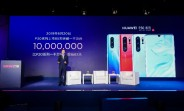 Huawei P30 series reaches 10 million sales in 85 days