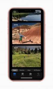Memoji Stickers, new Photos app