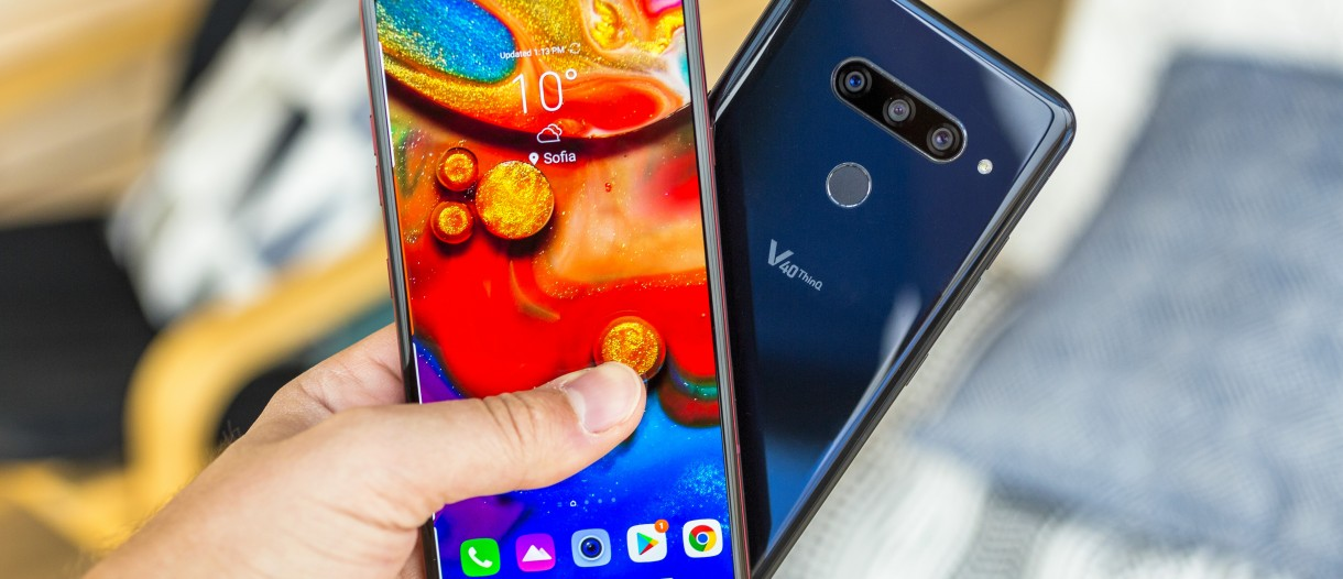 Unlocked LG V40 ThinQ now receiving Android Pie update - GSMArena