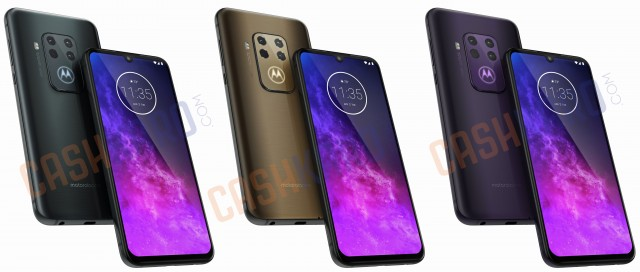 New Motorola One Pro renders