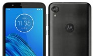 Motorola Moto E6 appears in a new render with textured back